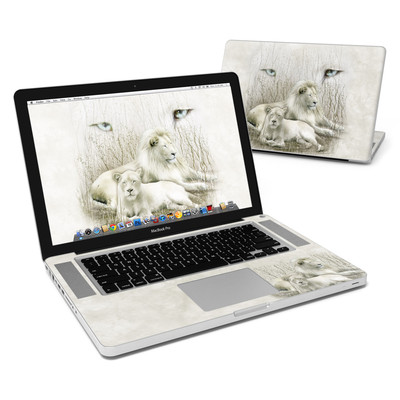 MacBook Pro 15in Skin - White Lion