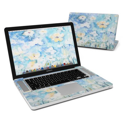 MacBook Pro 15in Skin - White & Blue