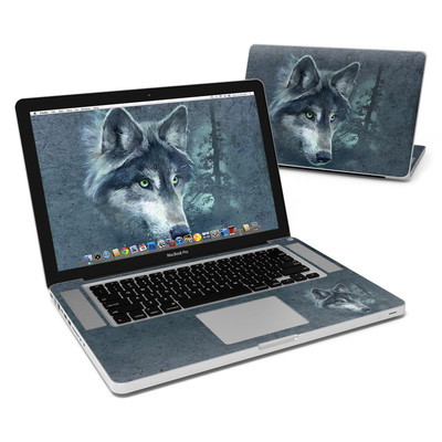 MacBook Pro 15in Skin - Wolf Reflection