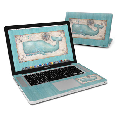 MacBook Pro 15in Skin - Whale Watch