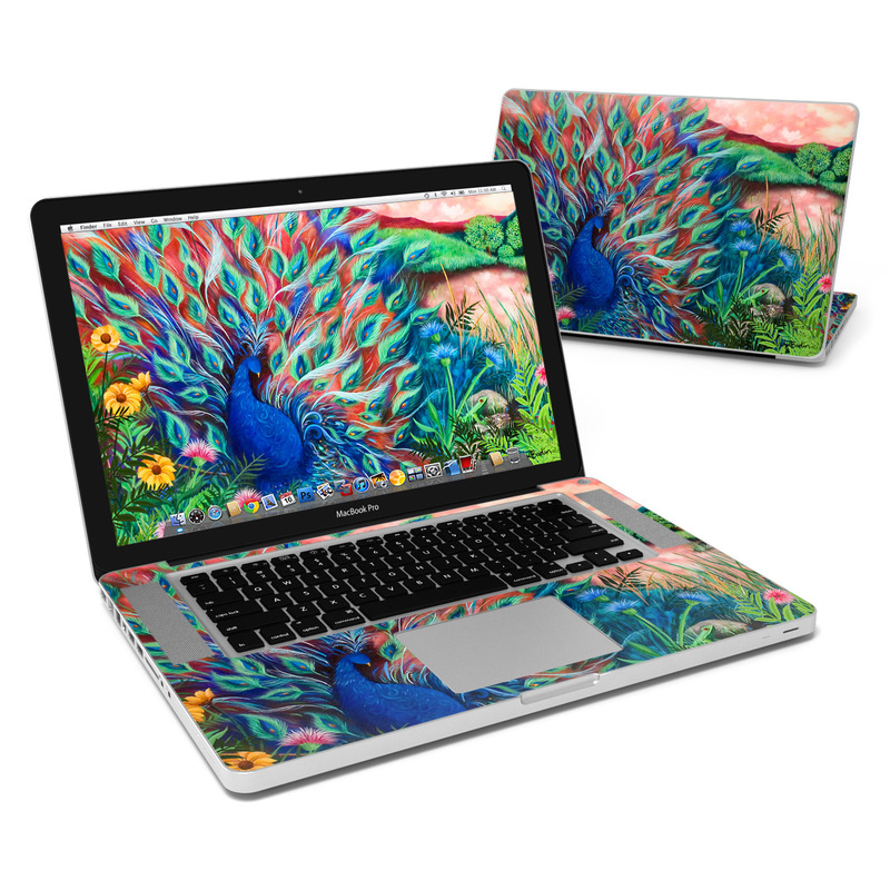 huge selection of 8441a b34a1 MacBook Pro 15in Skin - Coral Peacock