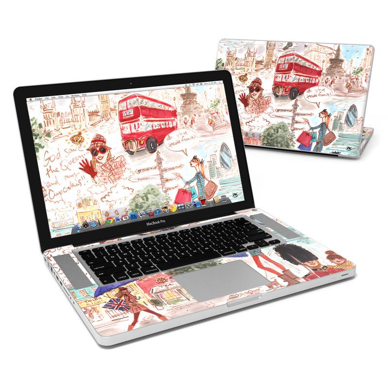 promo code d1faf 1ffa6 MacBook Pro 15in Skin - London