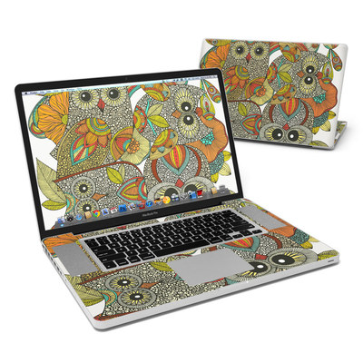 MacBook Pro 17in Skin - 4 owls