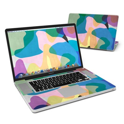 MacBook Pro 17in Skin - Abstract Camo