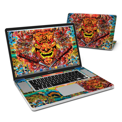 MacBook Pro 17in Skin - Asian Crest