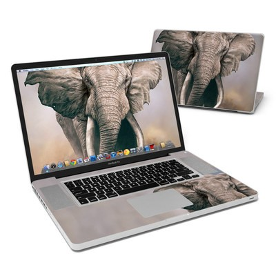 MacBook Pro 17in Skin - African Elephant