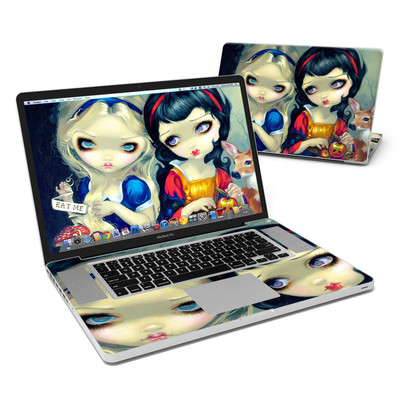 MacBook Pro 17in Skin - Alice & Snow White