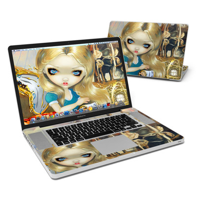 MacBook Pro 17in Skin - Alice in a Dali Dream