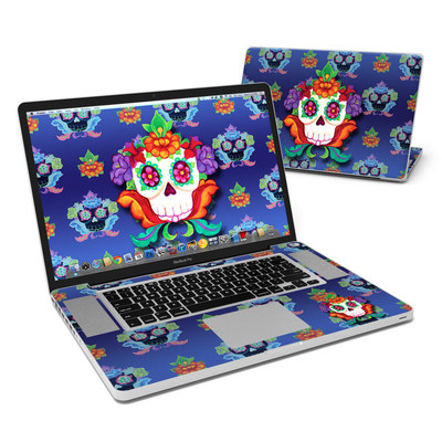 MacBook Pro 17in Skin - Altar Skull