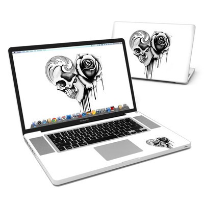 MacBook Pro 17in Skin - Amour Noir