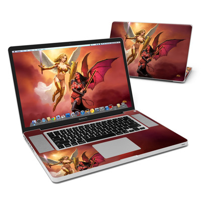 MacBook Pro 17in Skin - Angel vs Demon