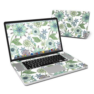 MacBook Pro 17in Skin - Antique Nouveau