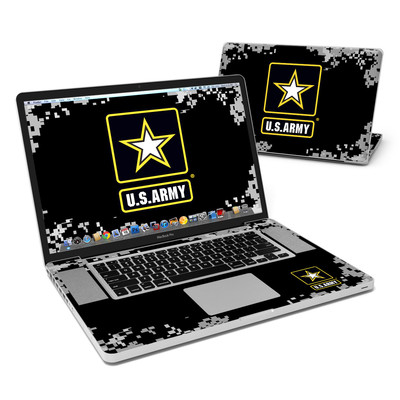 MacBook Pro 17in Skin - Army Pride