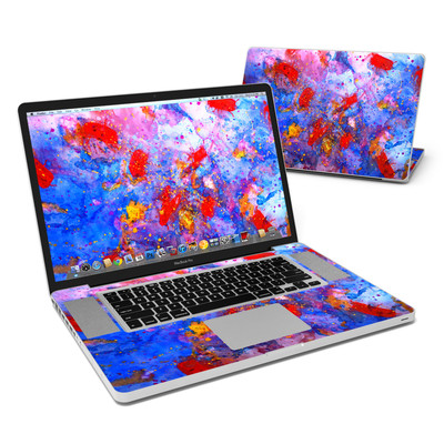 MacBook Pro 17in Skin - Aqua-ese