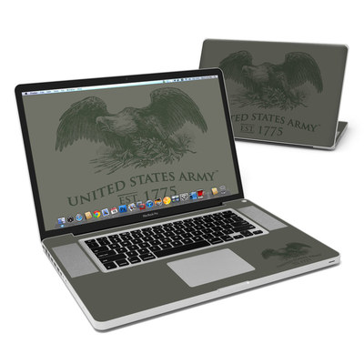 MacBook Pro 17in Skin - Army Crest