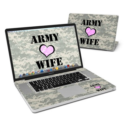 MacBook Pro 17in Skin - Army Wife