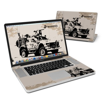 MacBook Pro 17in Skin - Artillery
