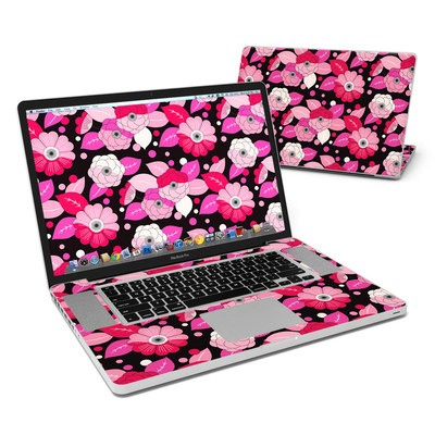 MacBook Pro 17in Skin - Asiana Blossoms