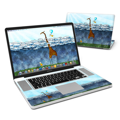 MacBook Pro 17in Skin - Above The Clouds