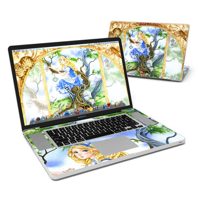 MacBook Pro 17in Skin - Alice's Tea Time