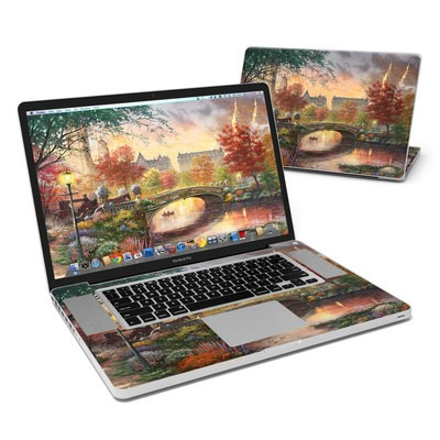 MacBook Pro 17in Skin - Autumn in New York