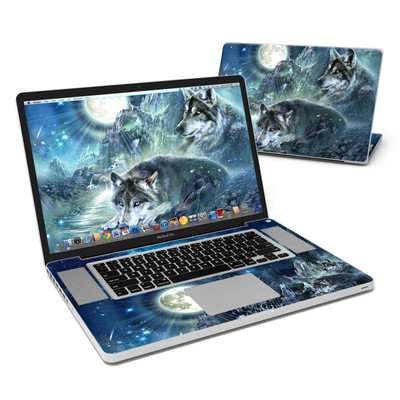 MacBook Pro 17in Skin - Bark At The Moon