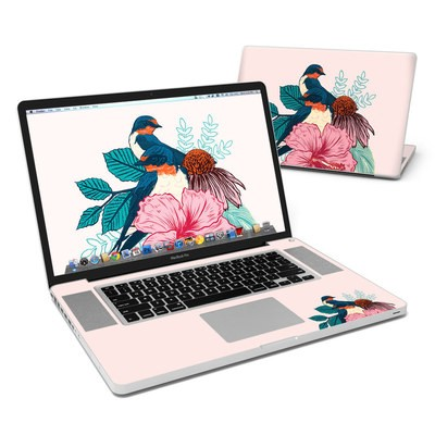 MacBook Pro 17in Skin - Barn Swallows