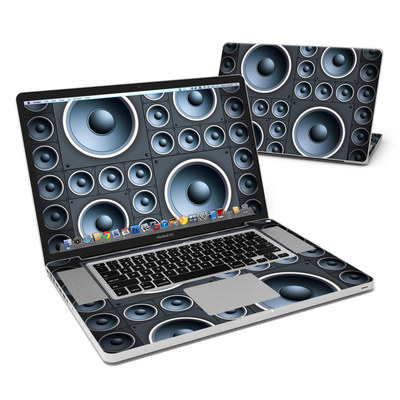 MacBook Pro 17in Skin - Bass is Good