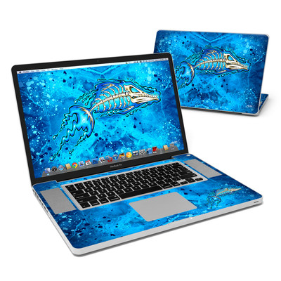 MacBook Pro 17in Skin - Barracuda Bones