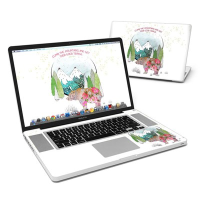 MacBook Pro 17in Skin - Bear Mountain