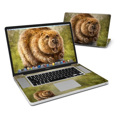 MacBook Pro 17in Skin - Beaver Totem