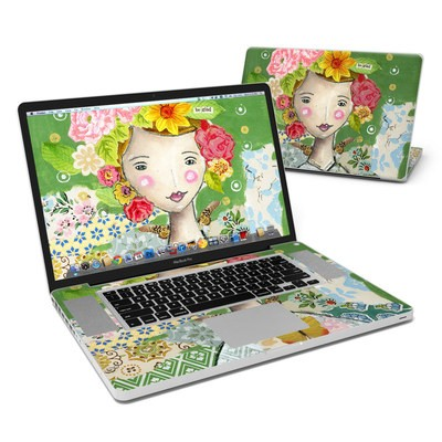 MacBook Pro 17in Skin - Be Glad