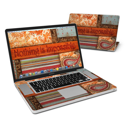 MacBook Pro 17in Skin - Be Inspired
