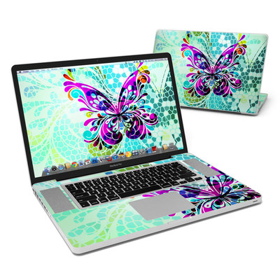 MacBook Pro 17in Skin - Butterfly Glass