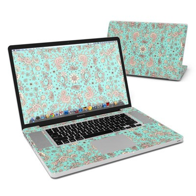 MacBook Pro 17in Skin - Birds Of A Flower