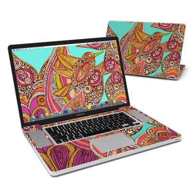 MacBook Pro 17in Skin - Bird In Paradise