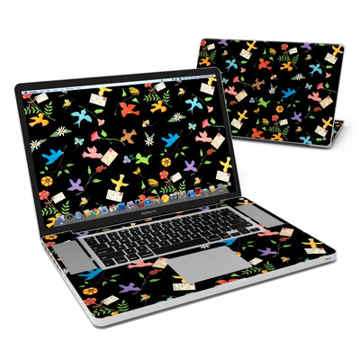 MacBook Pro 17in Skin - Birds