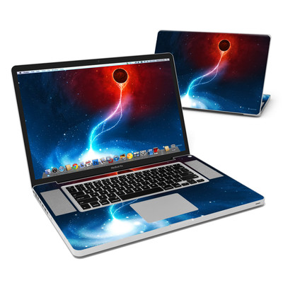 MacBook Pro 17in Skin - Black Hole