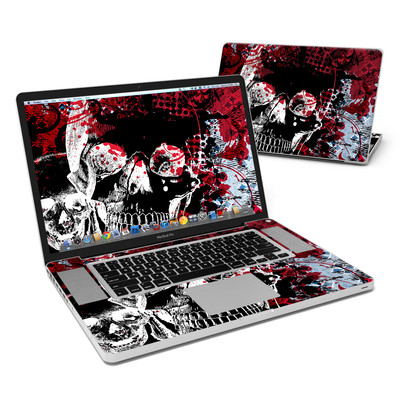 MacBook Pro 17in Skin - Blast