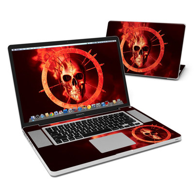 MacBook Pro 17in Skin - Blood Ring