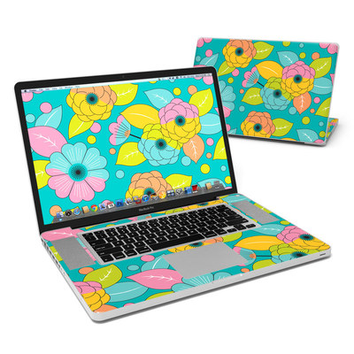 MacBook Pro 17in Skin - Blossoms