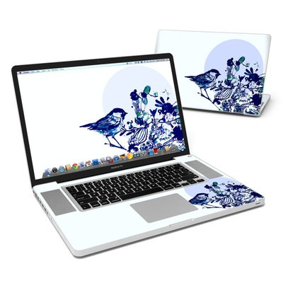 MacBook Pro 17in Skin - Bluebird