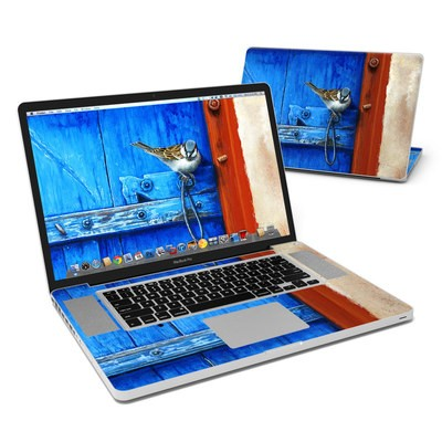 MacBook Pro 17in Skin - Blue Door