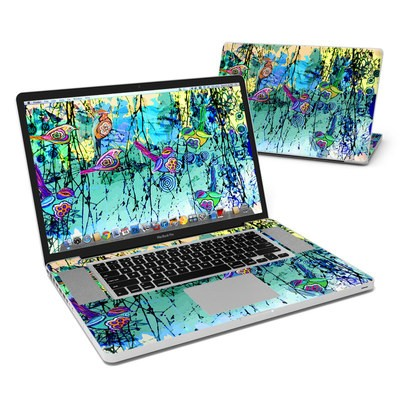 MacBook Pro 17in Skin - Blue Evening