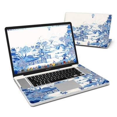 MacBook Pro 17in Skin - Blue Willow