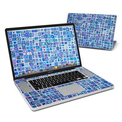 MacBook Pro 17in Skin - Blue Monday