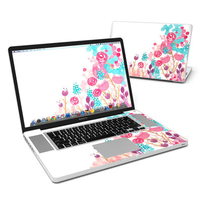 MacBook Pro 17in Skin - Blush Blossoms