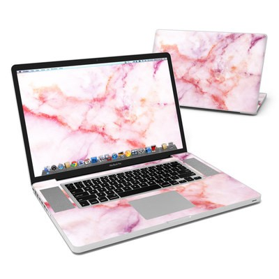 MacBook Pro 17in Skin - Blush Marble