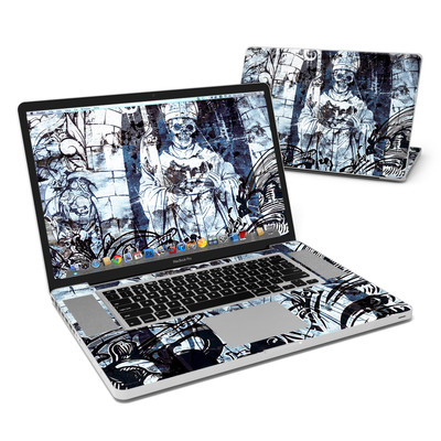MacBook Pro 17in Skin - Black Mass
