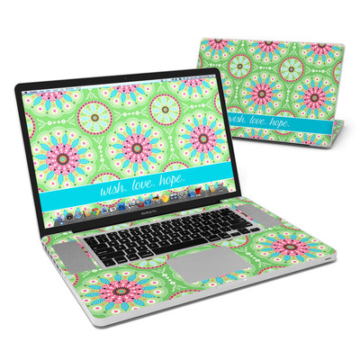 MacBook Pro 17in Skin - Boho
